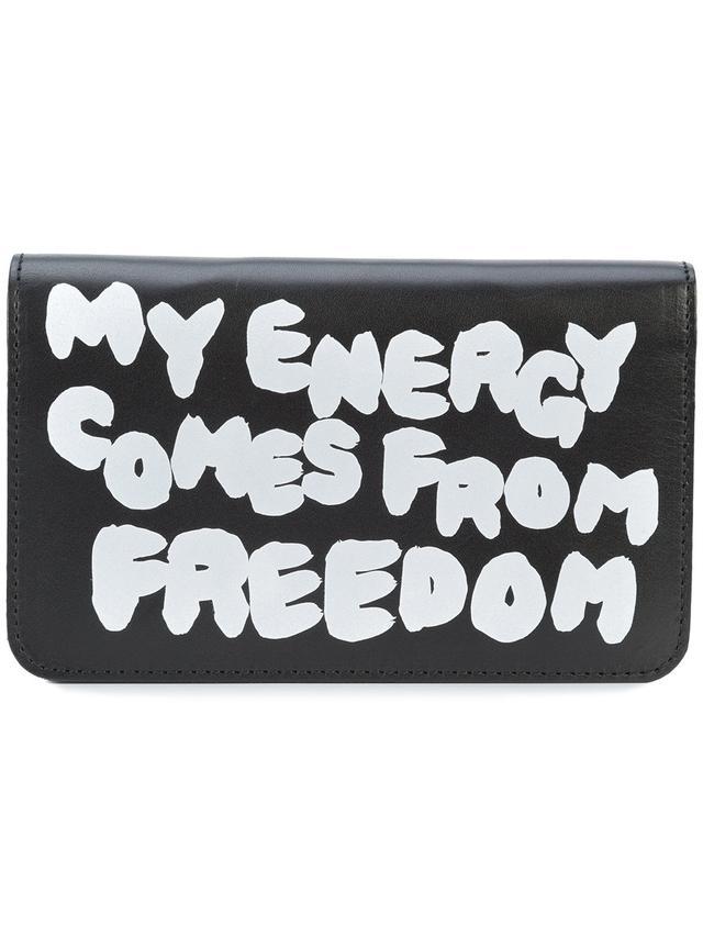 Comme Des Garçons Slogan Wallet