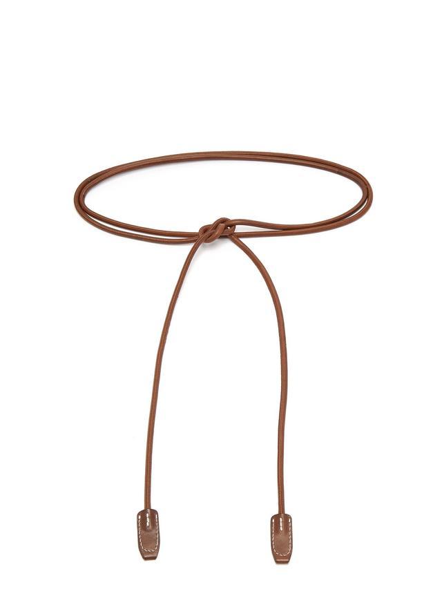 Acne Studios Rope Leather Belt