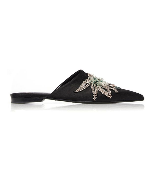 Lanvin Embroidered Mule