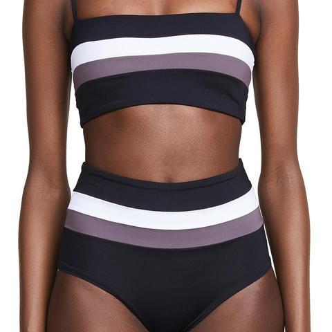 Portia Stripe Bottoms