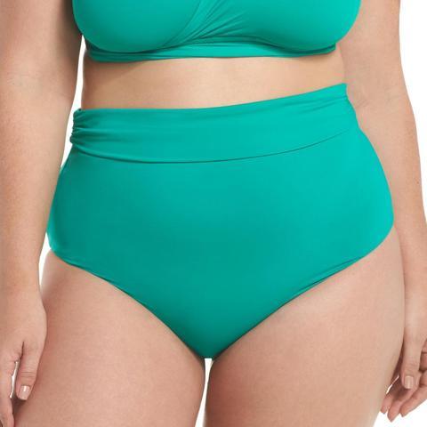 Color Splash High Waist Bikini Bottoms