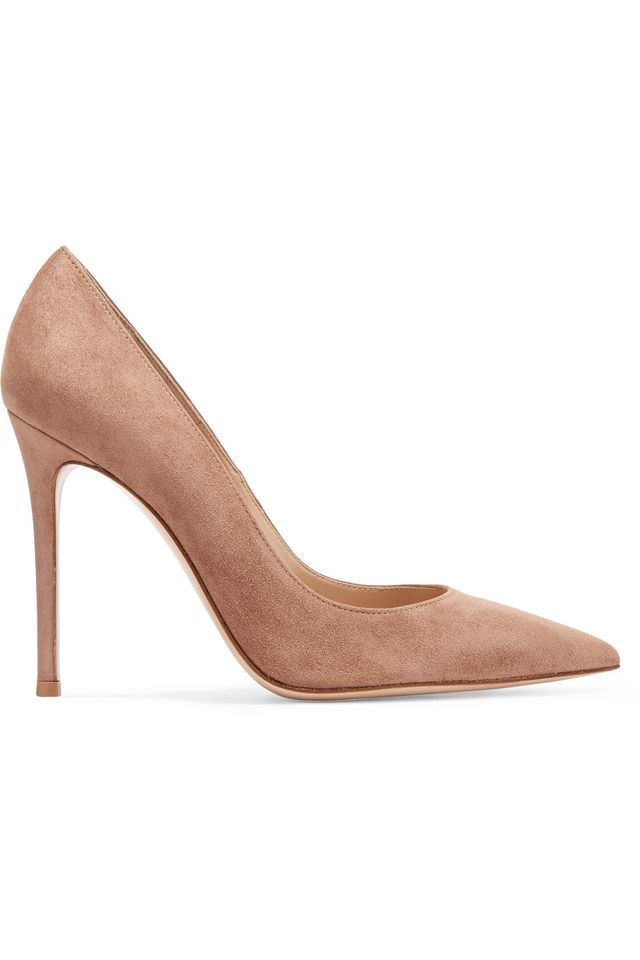 105 Suede Pumps