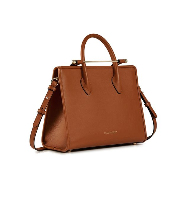 Strathberry Midi Tote in Tan