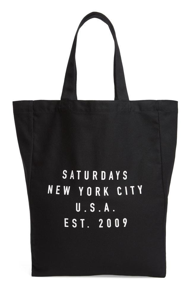 Saturdays Nyc Established Usa Tote Bag -