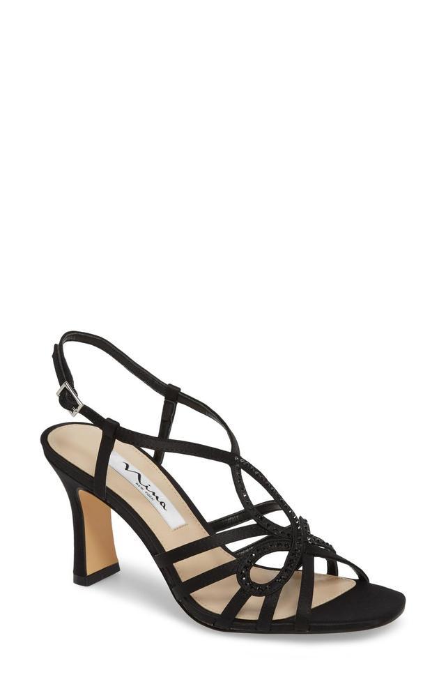 Amabel Crystal Embellished Sandal