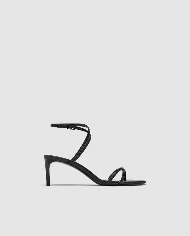 Zara Micro Blotted Sandals