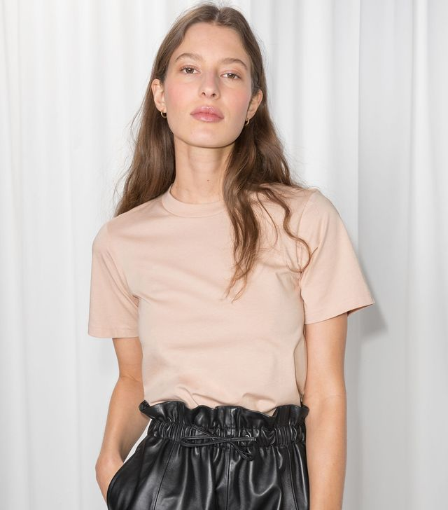 & Other Stories Basic Straight Fit T-Shirt