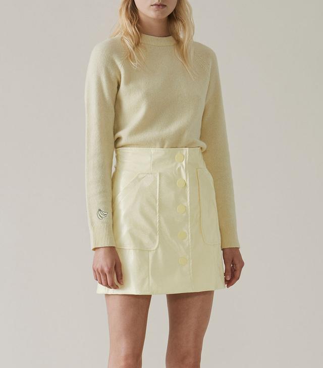 Ganni Monterey Mini Skirt