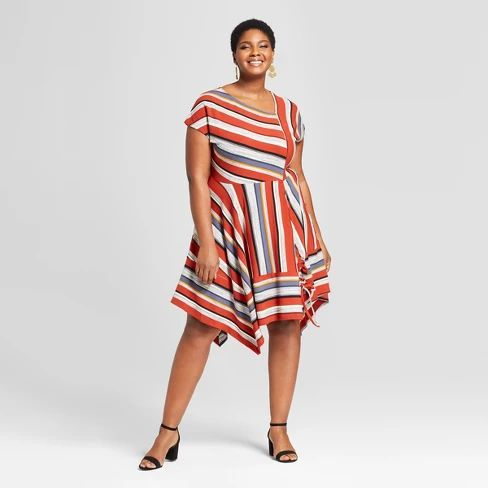 Striped Dresses to Wear With Cowboy Boots to a Wedding