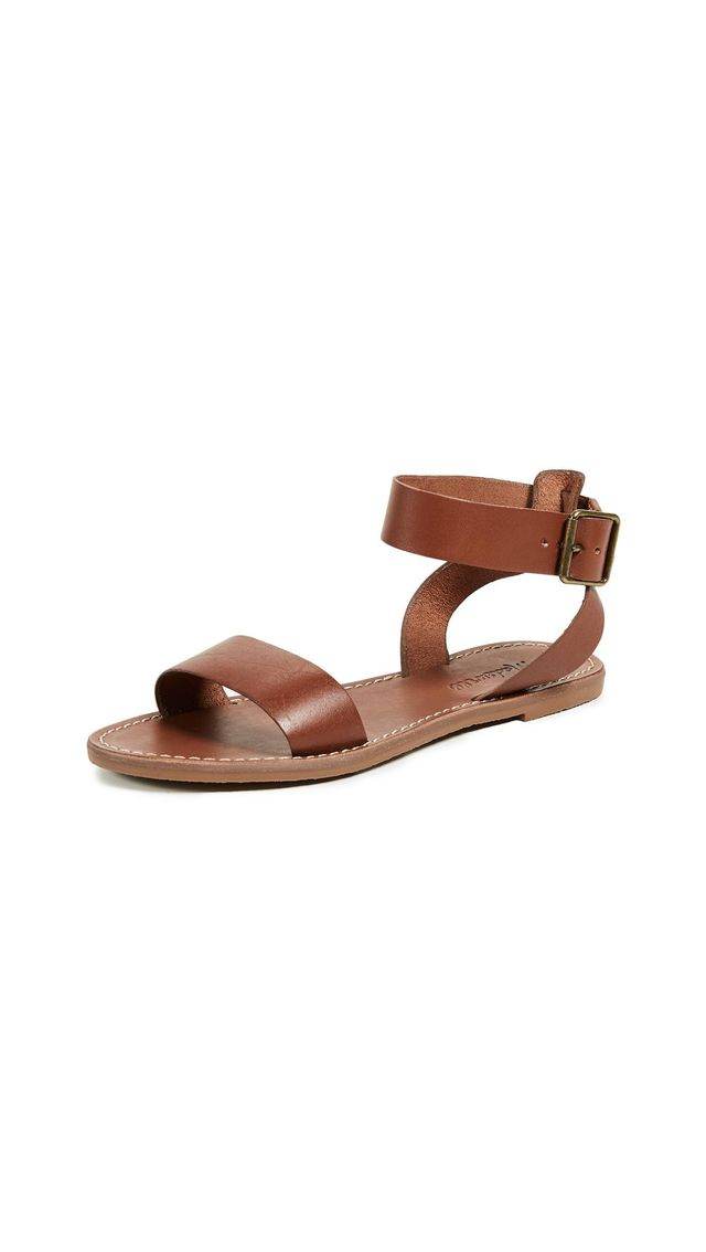 The Boardwalk Ankle-Strap Sandals