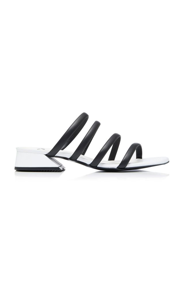 M'O Exclusive Strappy Leather Sandals