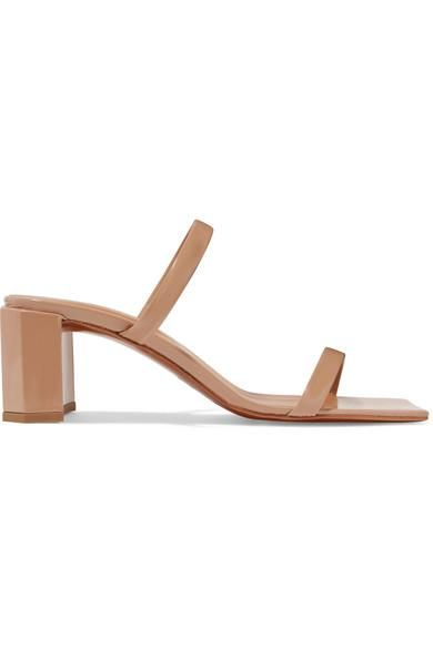 Tanya Patent-Leather Sandals