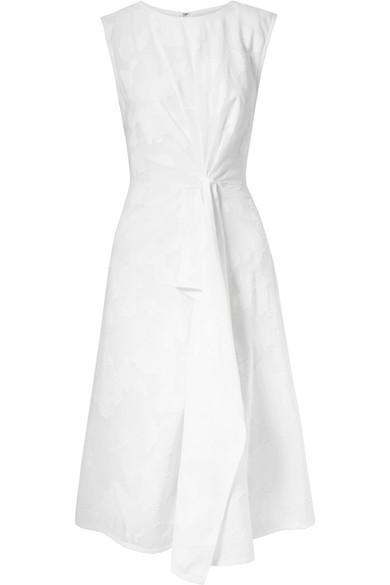 Fil Coupé Cotton-voile Dress