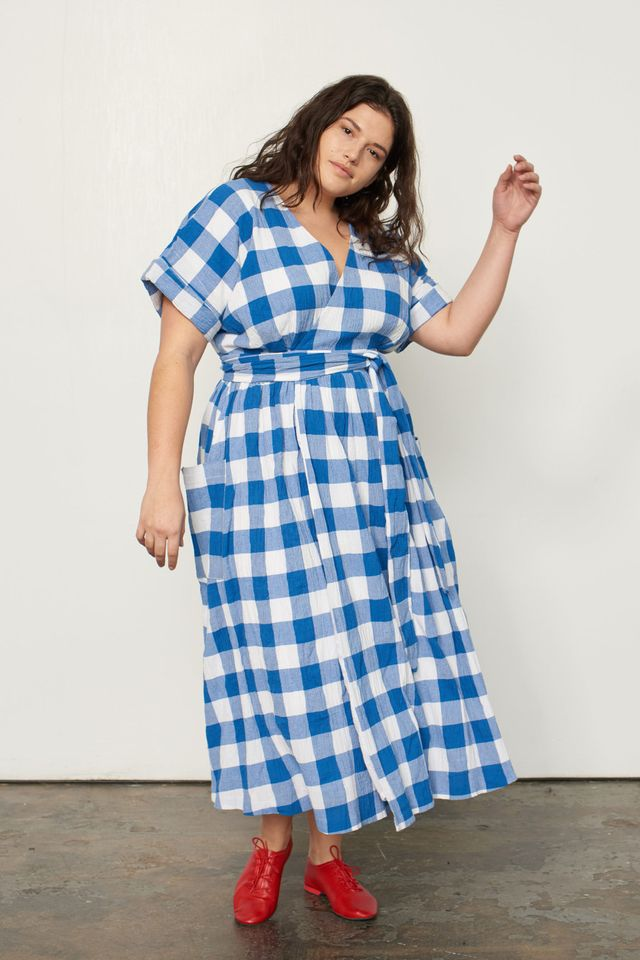 Best Checkered Cotton Summer Dresses