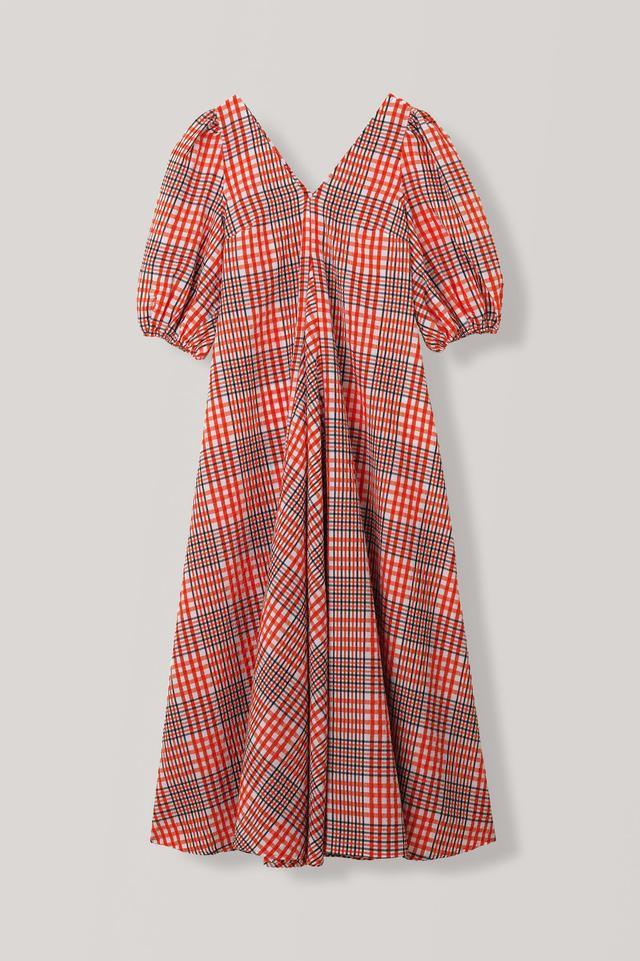 Best Maxi Checkered Summer Dresses