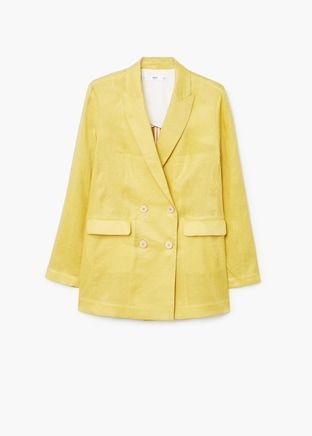 Linen Summer Blazers for Women