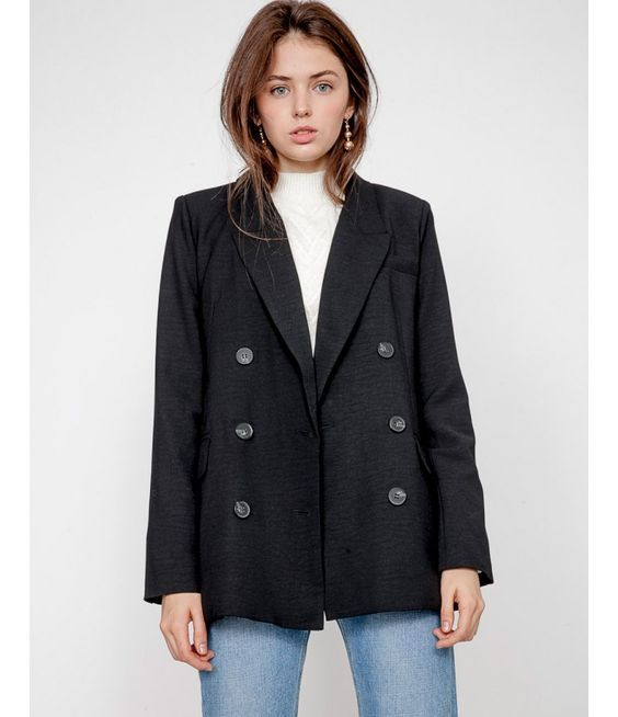Black Summer Blazers for Women