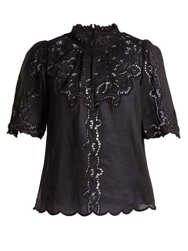 Mumba Broderie-Anglaise Top