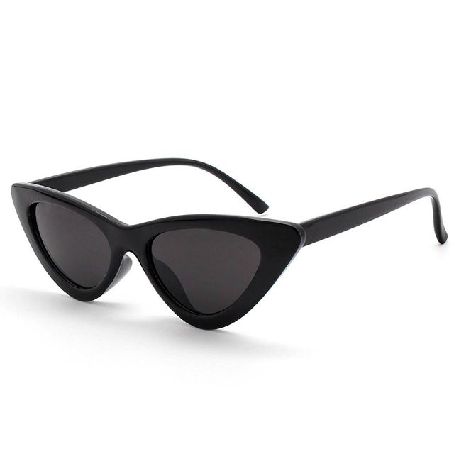 Livho Retro Vintage Narrow Cat Eye Sunglasses