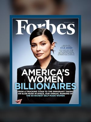 Kylie Jenner Is Officially One of the Richest Women in America
