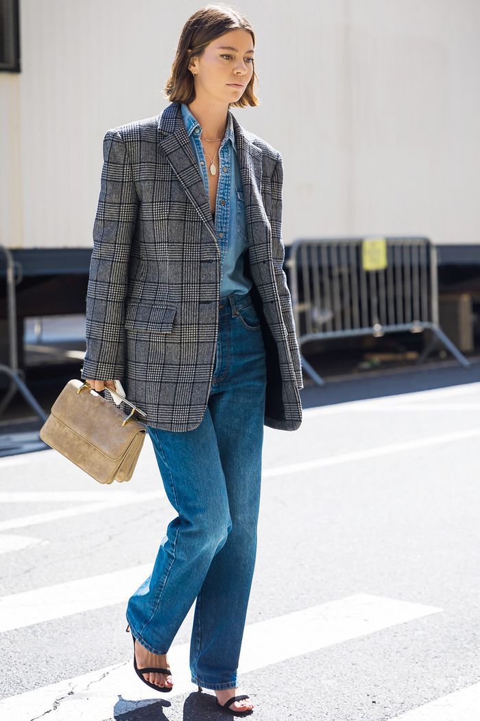 30 Ways To Wear A Blazer With Jeans Who What Wear Uk