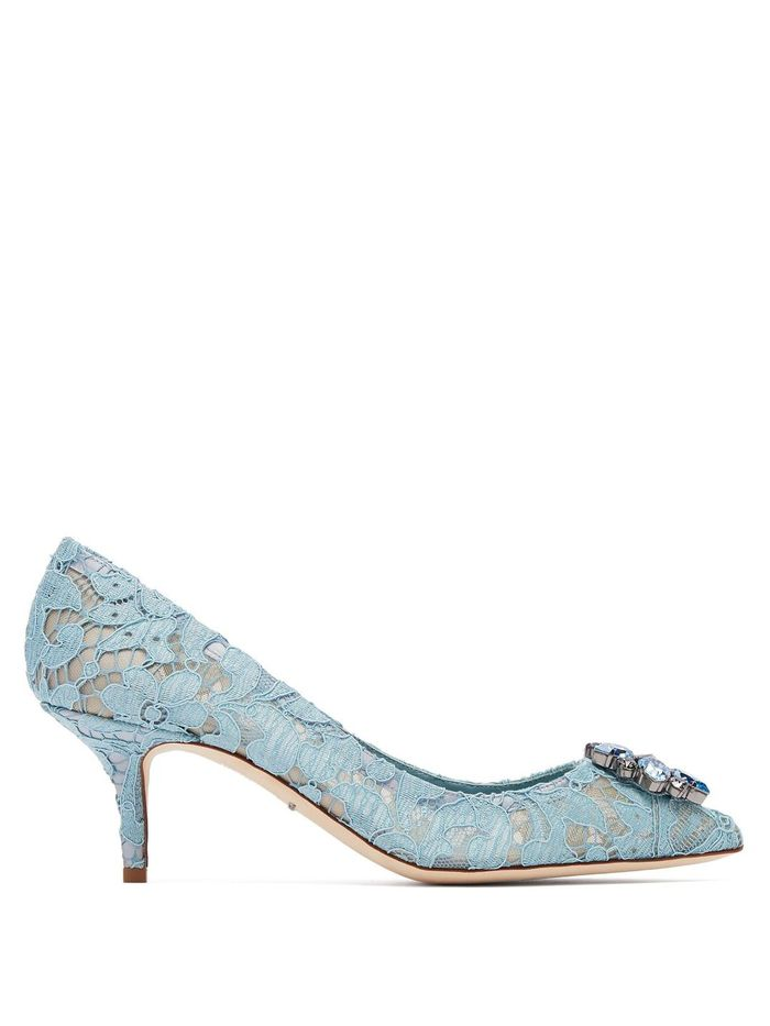 Walk Down The Aisle In These 16 Blue Wedding Shoes Who What Wear