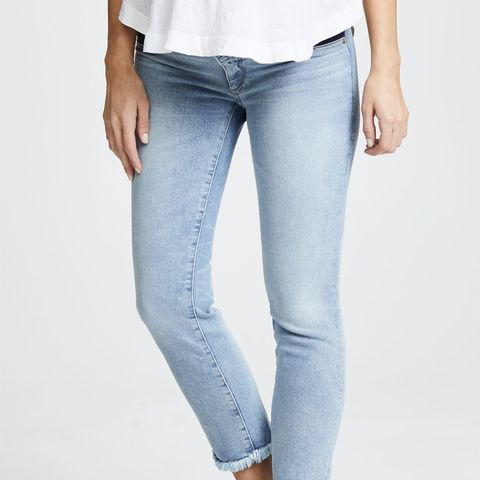 Mara Straight Ankle Instasculpt Maternity Jeans