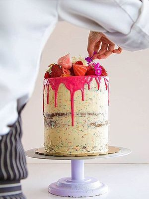 Make Your Big Day Sweeter With This Season's Bold Wedding Cake Trend