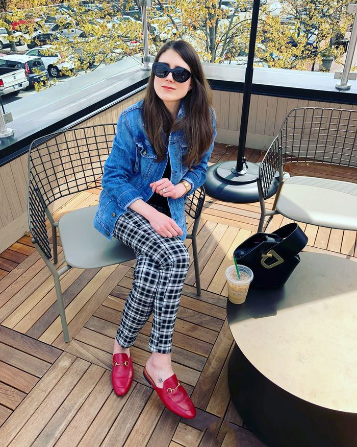 A Fashion Editor\u0027s Gucci Loafer Outfits