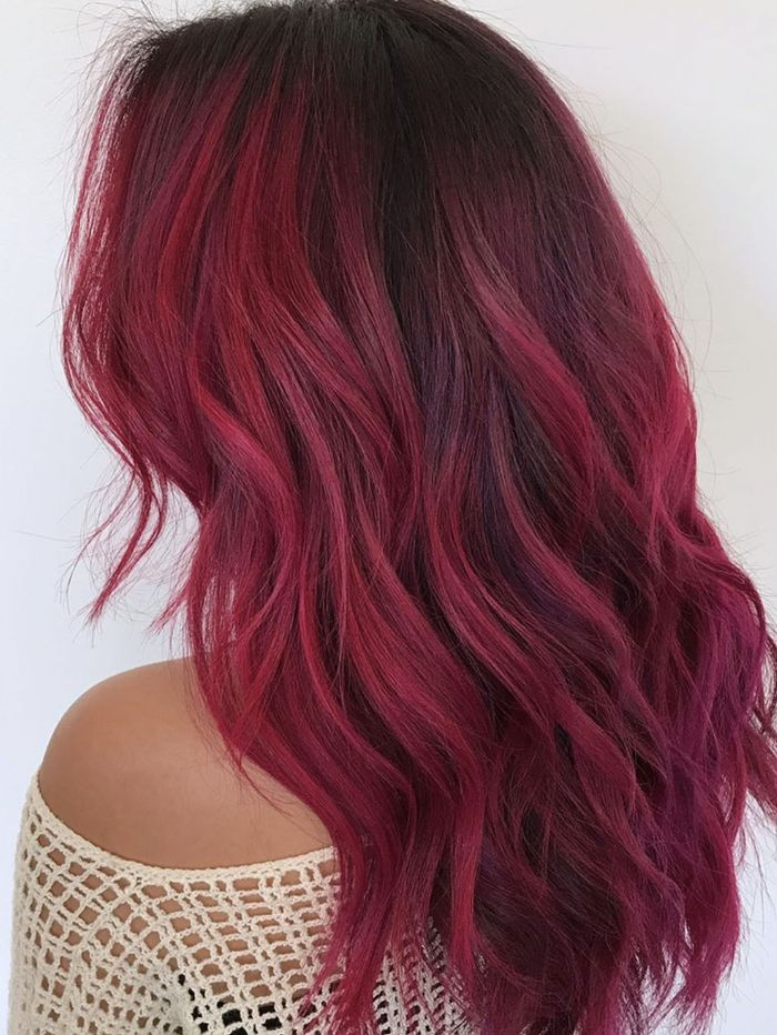 23 red ombré hair ideas for 2018 byrdie