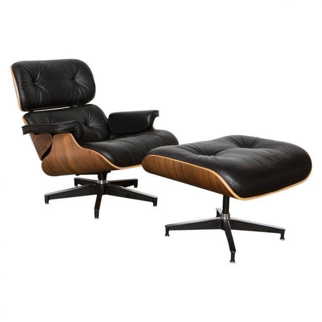 Matt Blatt Lounge Chair and Ottoman