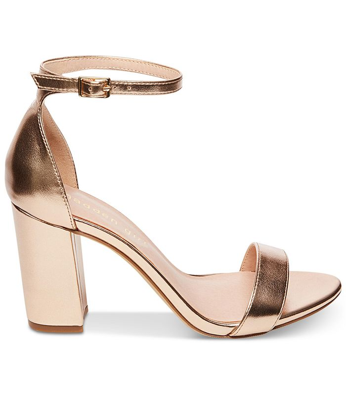 20 Rose Gold Wedding Shoes That Are Perfect For Your Big