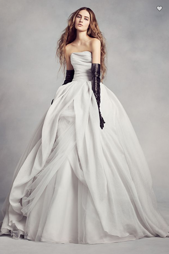 20 Beautiful Silver Wedding Dresses | Who What Wear