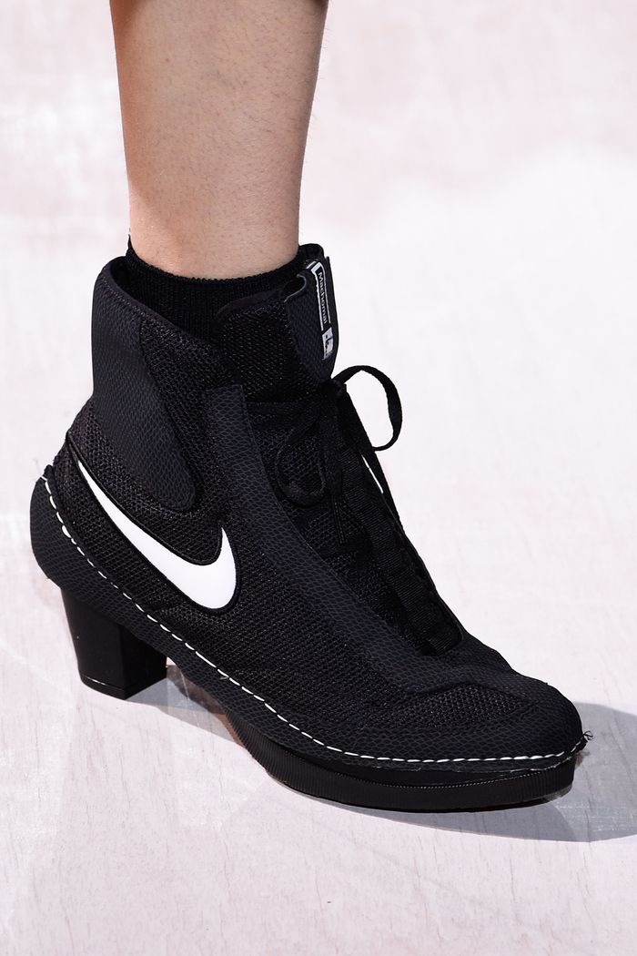 cheap for discount c41ee ca075 See Nike x Comme des Garçons' High-Heel Sneakers | Who What Wear