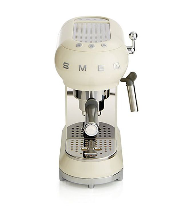Smeg Cream Espresso Maker - Crate and Barrel