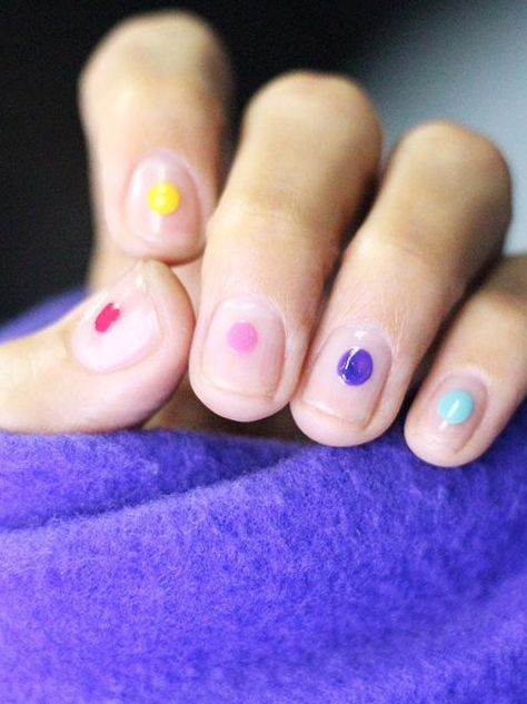 - 20 Shockingly Easy Nail Designs You Can Totally Do At Home Byrdie