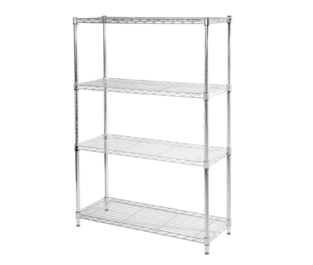 Overstock Seville Classics 4-shelf UltraZinc Steel Wire Shelving