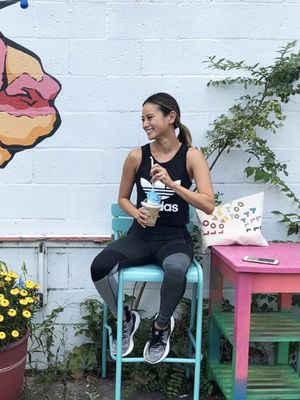 Exclusive: Jamie Chung's Secret Drink for Beating Bloat Is Delightfully Easy