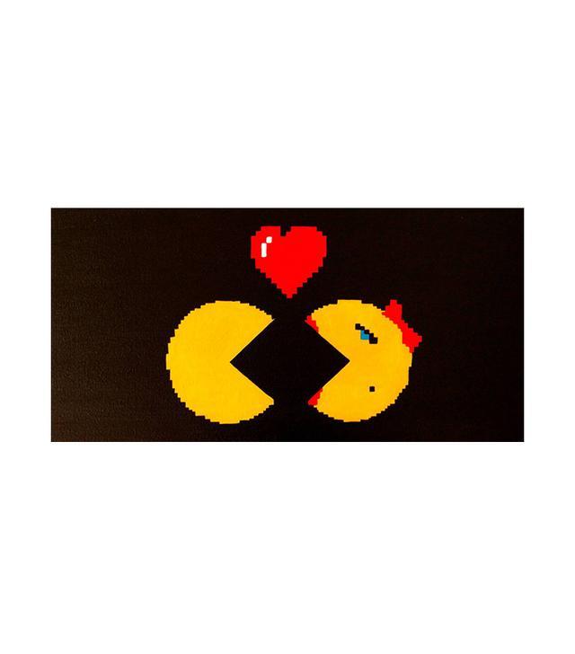 Society 6 Pac-Man Retro Arcade Gaming Poster