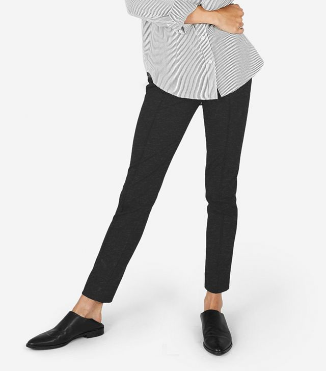 Women's Stretch Ponte Skinny Pant by Everlane in Charcoal, Size 12