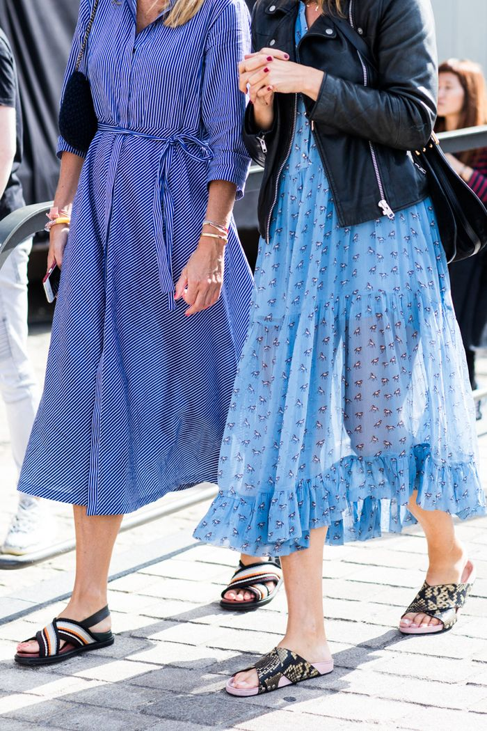 These Are The Best Shoes To Wear With A Midi Skirt Who