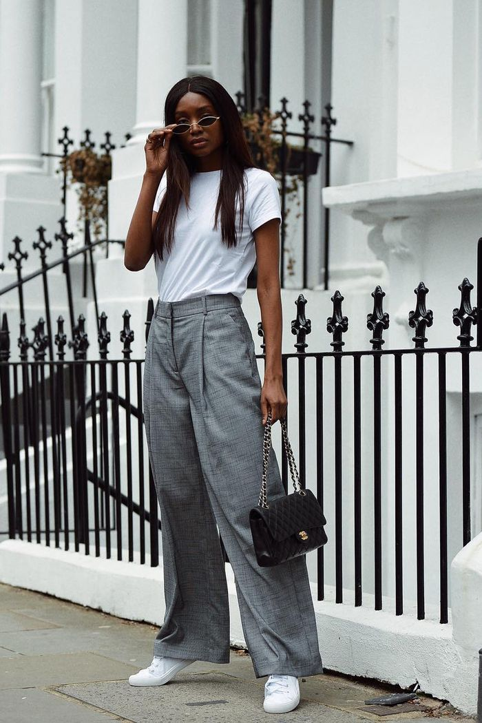 3140373ad8 96 of the Chicest White Sneaker Outfits Ever | Who What Wear