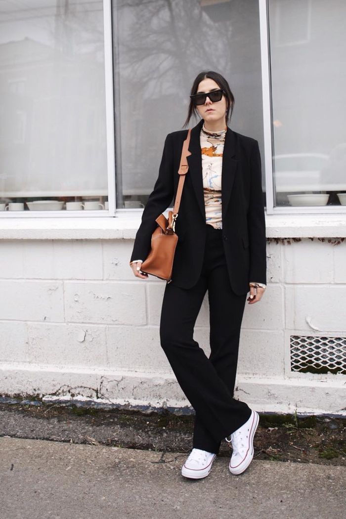 5afb0937e516 96 of the Chicest White Sneaker Outfits I ve Ever Seen