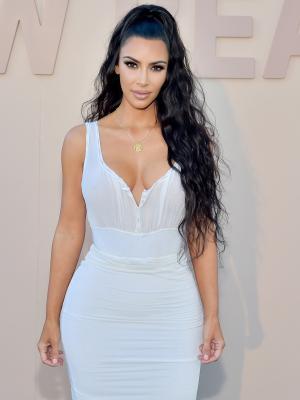 Kim Kardashian West Just Won Wedding Guest Style in a Vintage Minidress