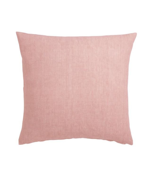 "20"" Linon Rose Pillow with Down-Alternative Insert"
