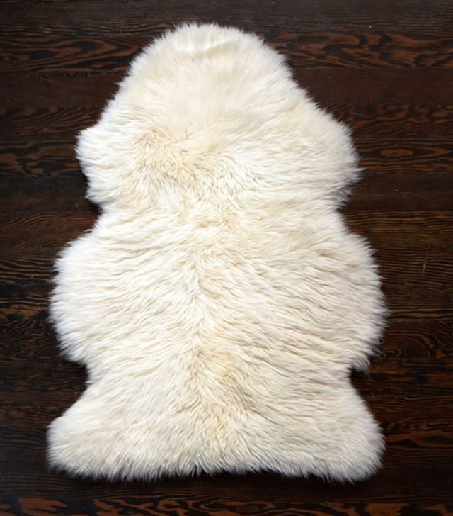 Pottery Barn Sheepskin Rug