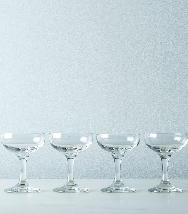 W&P Design Cocktail & Champagne Coupes (Set of 4)
