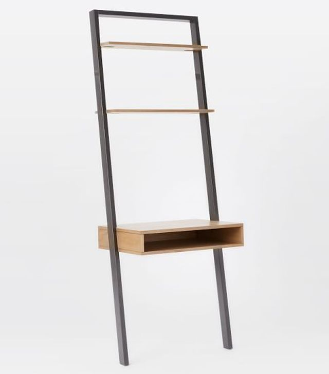 West Elm Ladder Shelf Desk