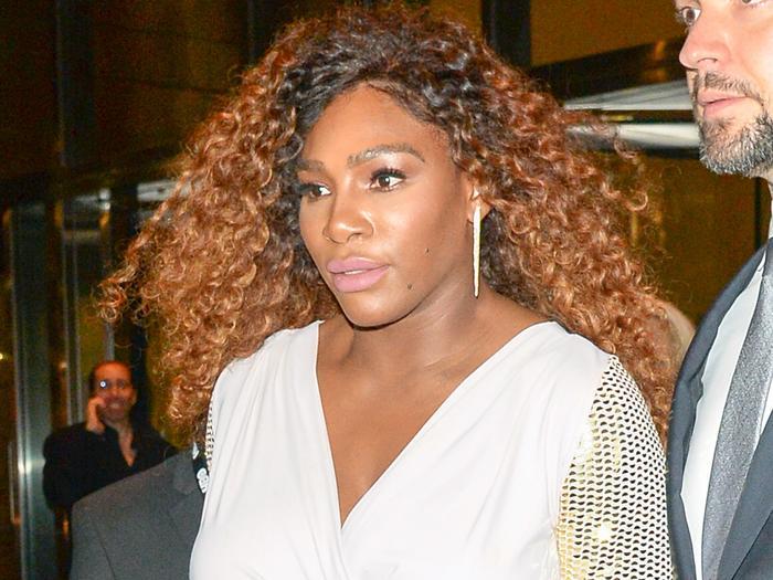 Yep, Serena Williams Just Pulled Off Crocs With Leggings