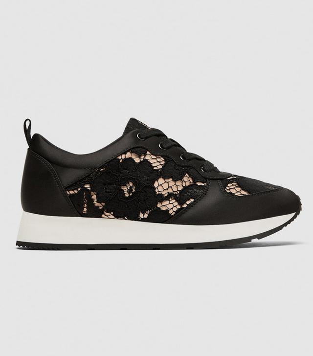 Zara Lace Sneakers